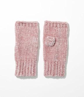 LOFT Ribbed Chenille Fingerless Gloves
