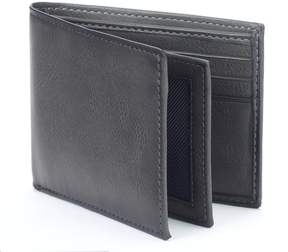 Apt. 9 Rfid-Blocking Extra-Capacity Bifold Wallet - Men