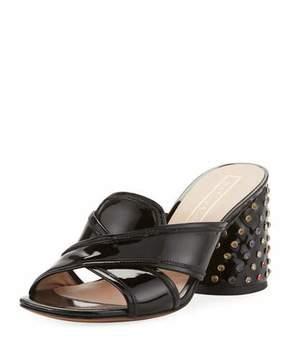 Marc Jacobs Aurora Embellished Mule Sandal, Black