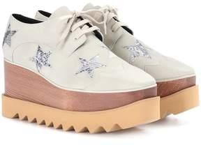 Stella McCartney Elyse Star platform Derby shoes
