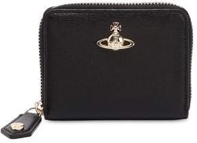 Vivienne Westwood Medium Saffiano Zip Around Wallet