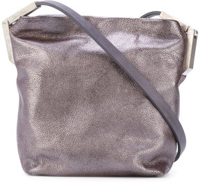 Rick Owens metallic crossbody bag