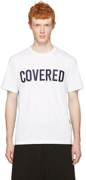 Juun.J White Covered T-Shirt