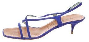 Sigerson Morrison Slingback Suede Sandals