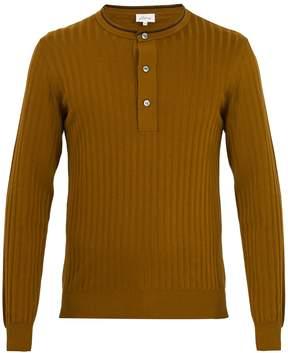 Brioni Crew-neck cotton-blend sweater