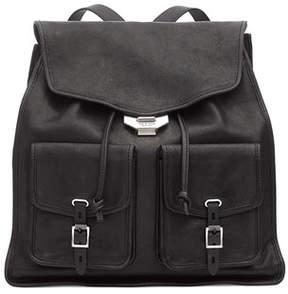 Rag & Bone Field Leather Flap Backpack