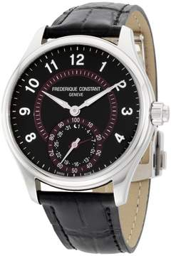 Frederique Constant Classics FC285BBR5B6 Stainless Steel Black Dial 42mm Mens Watch