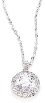 Adriana Orsini Round Crystal Pendant Necklace