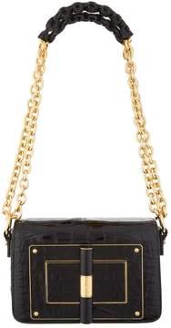 Tom Ford Small Alligator Natalia Chain Shoulder Bag