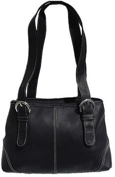 Women's Piel Leather Medium Buckle Handbag 2599