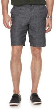 Marc Anthony Men's Slim-Fit Herringbone Linen-Blend Shorts