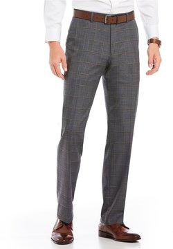 Murano Zac Modern Classic Fit Flat-Front Windowpane Pants