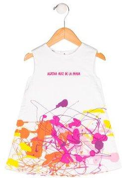 Agatha Ruiz De La Prada Splatter Print Dress w/ Tags