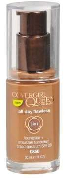 CoverGirl Queen Collection All Day Flawless Liquid Foundation SPF 20