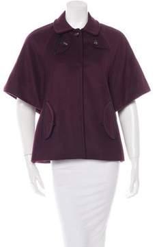 Anya Hindmarch Wool Short Coat