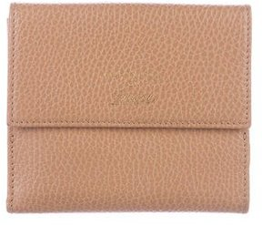 Gucci Swing Compact Wallet - BROWN - STYLE