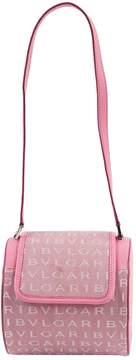 Bulgari Pink Cloth Handbag