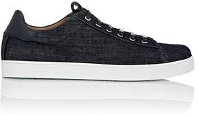 Gianvito Rossi Men's David Denim Sneakers