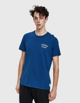 Reigning Champ Varsity Jersey Tee in Court Blue/White