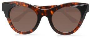 Thierry Lasry Cat-Eye Tortoiseshell Acetate Sunglasses