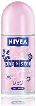 Nivea Angel Star Hot Crush Roll-On Deodorant by 50ml Deodorant)