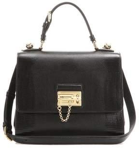 Dolce & Gabbana Monica embossed leather shoulder bag