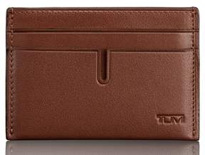 Tumi Leather Money Clip Card Case
