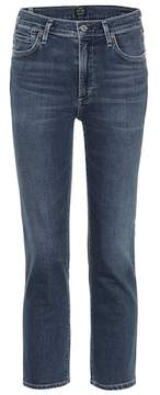 Citizens of Humanity Cara cropped high-waisted jeans