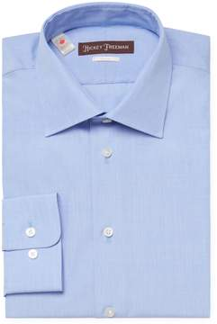 Hickey Freeman Men's Cotton Classic Fit Dress Shirt