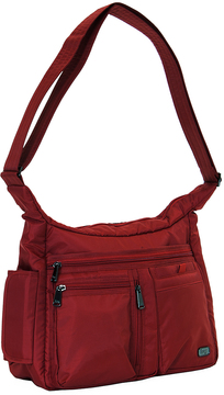 Cardinal Red Double Dutch Crossbody Bag