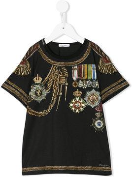 Dolce & Gabbana Kids printed T-shirt