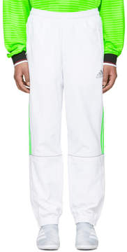 Gosha Rubchinskiy White adidas Originals Edition Tracks Pants