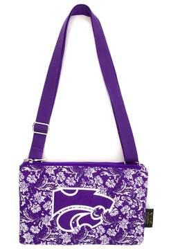NCAA Kansas State Wildcats Bloom Crossbody Bag