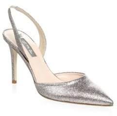 Sarah Jessica Parker Bliss Glitter Slingback Pumps