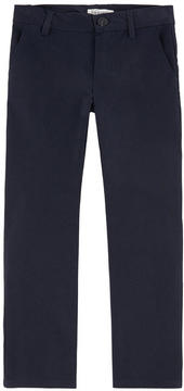 Jean Bourget Boy slim fit checked pants