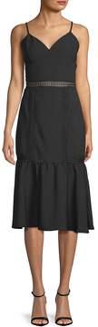 ABS by Allen Schwartz Women's Fitted Spaghetti-Strap Sheath Dress