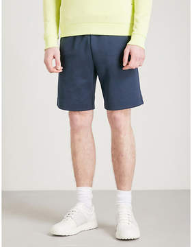 BOSS GREEN Logo-embroidered cotton-jersey shorts