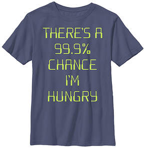 Fifth Sun Navy '99.9% Chance I'm Hungry' Crewneck Tee - Boys