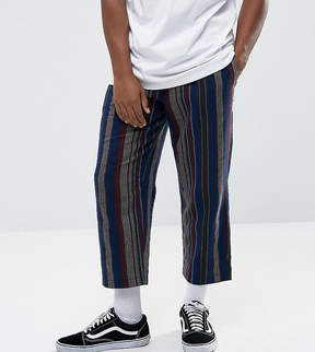 Reclaimed Vintage Inspired Relaxed Pants In Stripe
