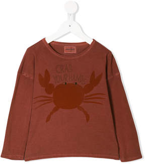 Bobo Choses Crab Your Hands T-shirt