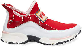 Fendi slip-on high-top sneakers