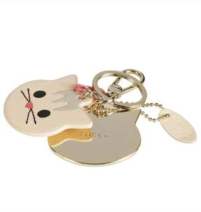 Furla Cat Head Keyring