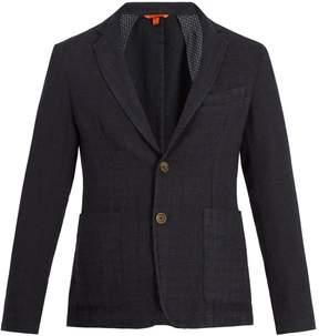 Barena VENEZIA Single-breasted checked wool-blend blazer