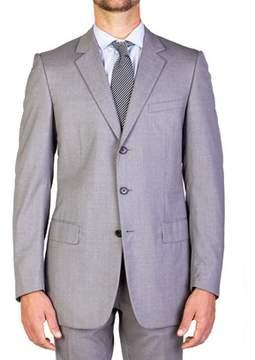 Christian Dior Men's Wool Three-button Suit Light Grey.