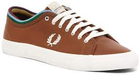 Fred Perry Kendrick Tipped Cuff Waxed Leather Sneaker
