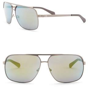 GUESS 63mm Navigator Sunglasses