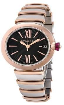 Bulgari Lucea Steel 18K Pink Gold 33mm Ladies watch LU33BSPGSPGD