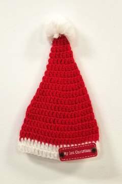 Mud Pie MUDPIE My-1st-Christmas Crochet Hat