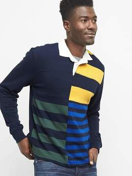 Gap Mix stripe rugby shirt