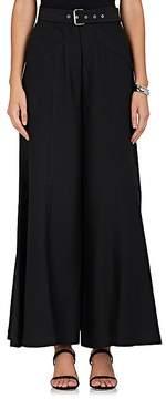 Derek Lam Women's Cotton-Blend Wide-Leg Crop Pants